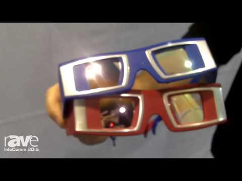 InfoComm 2015: Infitec Shows New Simplex 3D Glasses