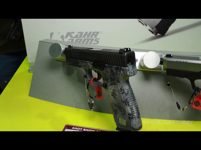 New S-Series from Kahr at SHOT Show 2018
