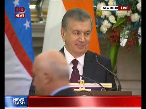 India and Uzbekistan sign 17 MoUs