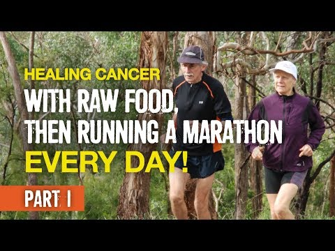 She healed cancer with raw food, then ran 366 marathons in a