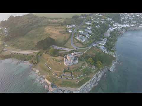 St Mawes Castle At Sunset 08th August 2020