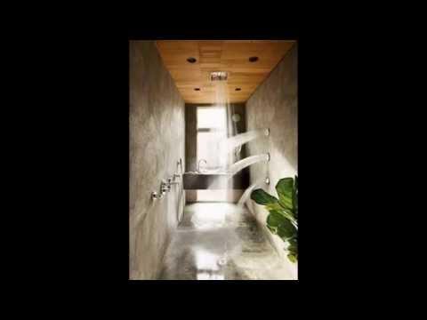 Salle de bain décorée par une douche design ultime