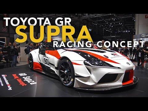 Toyota GR Supra Racing Concept First Look - 2018 Geneva Motor Show