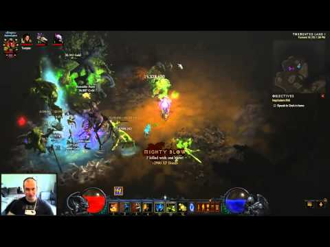 Diablo 3 RoS - Witch Doctor - T6 Poison DoT Build Without Jade