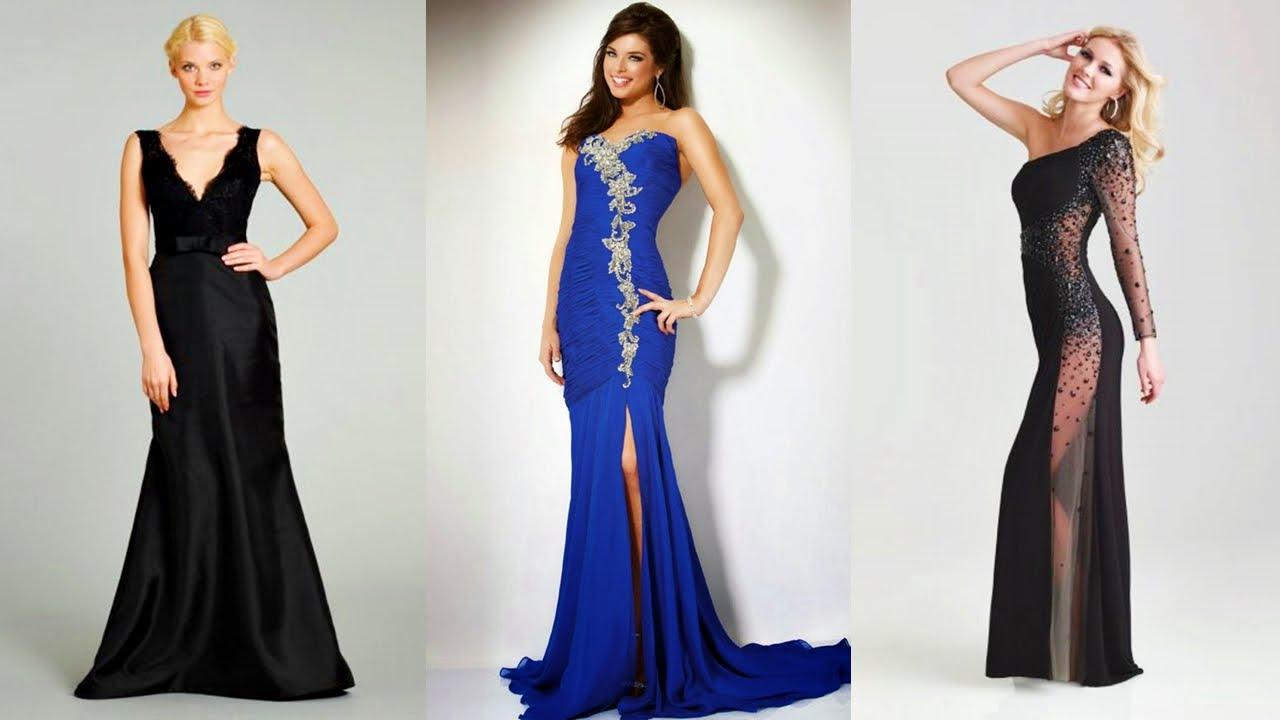 Hermosos Vestidos De Noche A La Moda