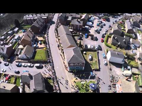 World Coal Carrying Championships Gawthorpe 2015 - View from Above