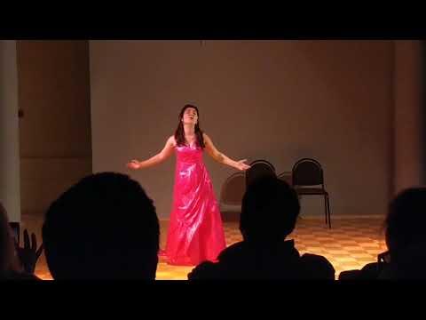 """Репетиция концерта. Ария Элизы из оперетты Ф. Лоу """"Моя прекрасная леди"""""""