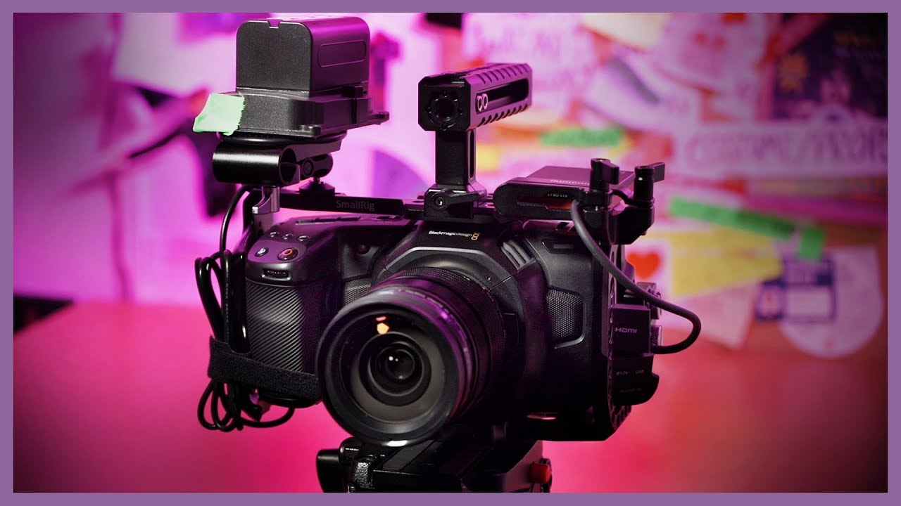 Smallrig Cage For The Blackmagic Pocket 4k The Film Look Youtube