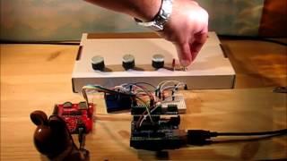 Stationsutrop med MP3 Trigger och Arduino