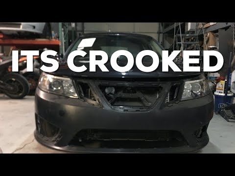 Pt.3 Daily Driver Saab 93 Aero Wagon is CROOKED! - Time for