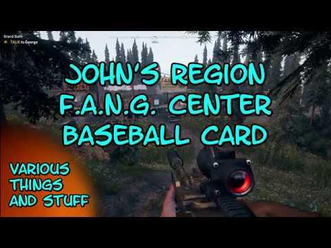 Far Cry 5 Jacobs Region Fang Center Baseball Card