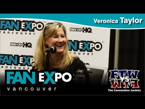 Veronica Taylor (Teenage Mutant Ninja Turtles, Pokemon) Fan Expo Vancouver 2017 Full Panel