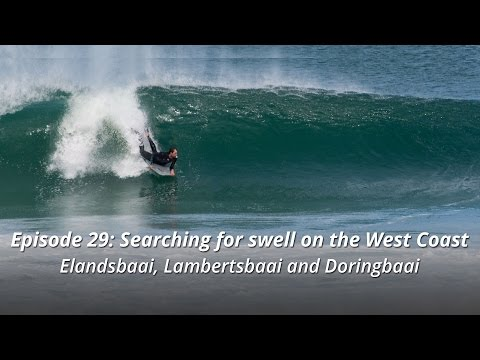 Searching for swell on the West Coast - Elands Bay, Lamberts Bay and Doringbaai