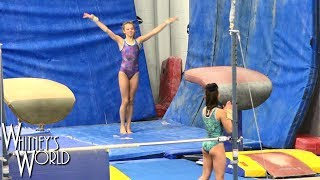 Landing on My Feet! | Whitney Bjerken Gymnastics