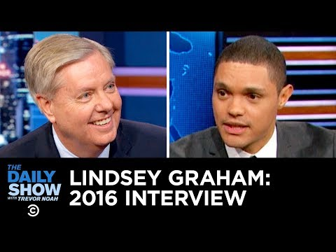 Lindsey Graham Wanted Anyone But Trump in 2016 | The Daily Show