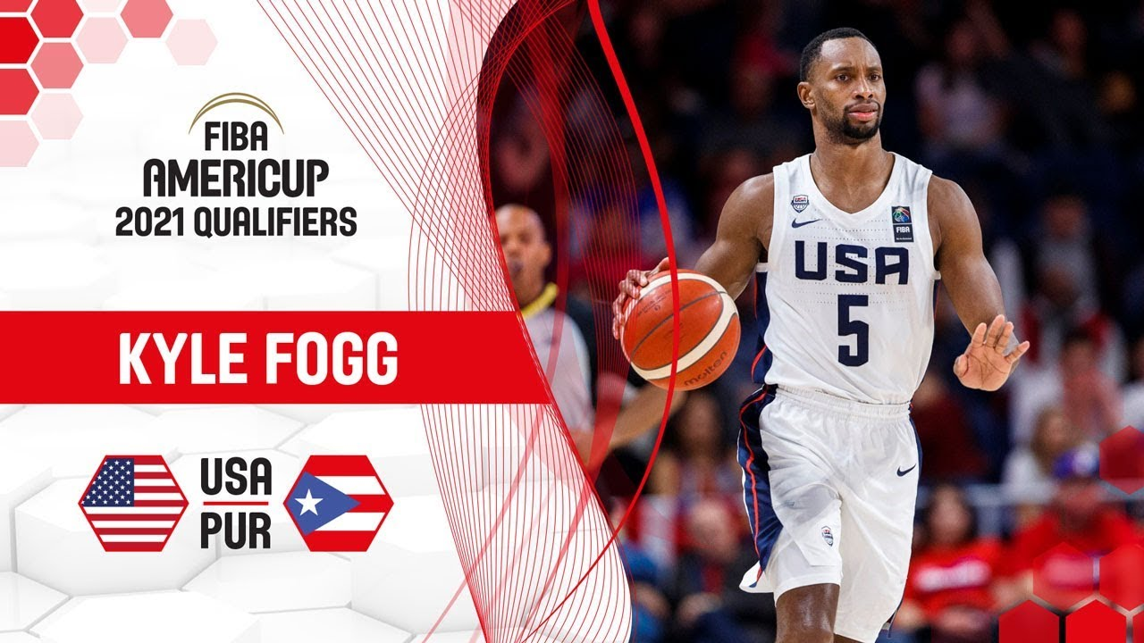 Kyle Fogg's solid performance against Puerto Rico! - FIBA AmeriCup 2021 Qualifiers