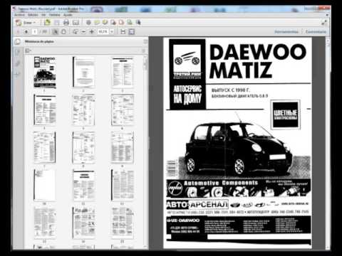 daewoo matiz service manual manual de reparatii youtube rh youtube com daewoo matiz engine repair manual daewoo matiz service manual pdf