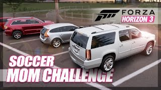 Forza Horizon 3 - Soccer Mom Challenge! (Funny & Random Moments)