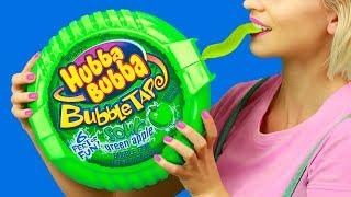 7 DIY巨型糖果和微型糖果!有趣的恶作剧!