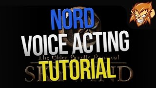 Skywind: Nord Voice Acting Tutorial - How to sound like a viking!