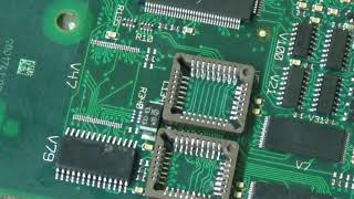 Installing the PLCC Integrated Circuit Socket