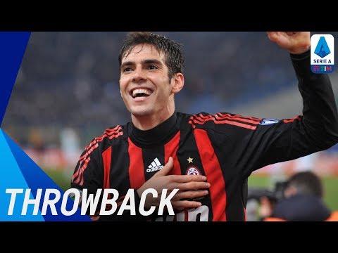 Kaká   Best Serie A Goals   Throwback   Serie A TIM