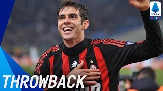 Kaká | Best Serie A Goals | Throwback | Serie A TIM