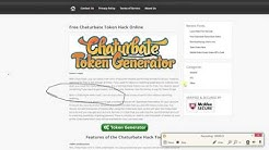 Chaturabte free Tokens Online