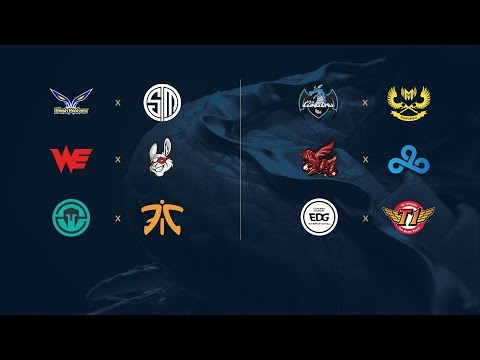 Campeonato Mundial de League of Legends 2017 - Fase de Grupos - Día 2