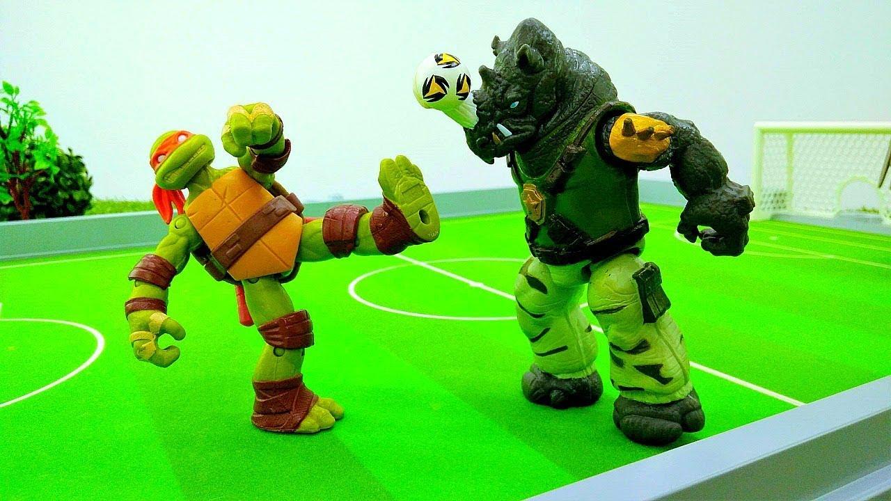 Игры черепашки ниндзя против ниндзя футбол игры черепашки ниндзя другие