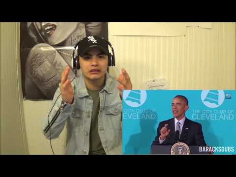 Barack Obama Singing Starboy by The Weeknd...