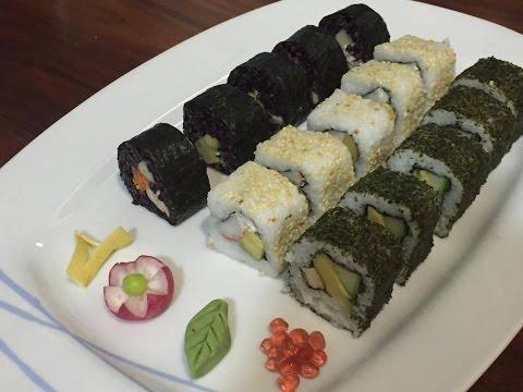 Sushi vegano clase 1