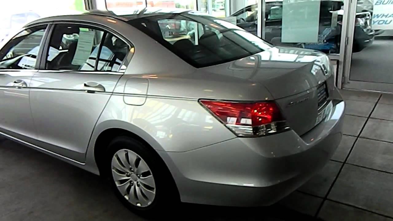 Alabaster Silver 2008 Honda Accord LX @ Eastside Mazda VW In Cleveland,  Ohio   YouTube
