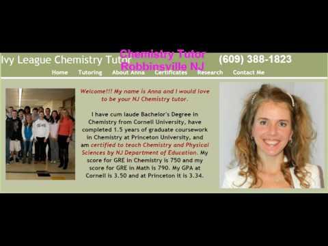 AP Chemistry, Honors Chemistry and Physics Tutor in Plainsboro NJ 609-388-1823