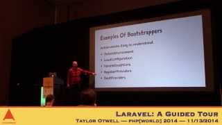 Taylor Otwell — Laravel: A Guided Tour — php[world] 2014