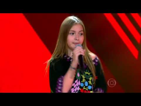 Gigi Fonseca canta 'Do Lado de Cá' no The Voice Kids - Audições|1ª Temporada