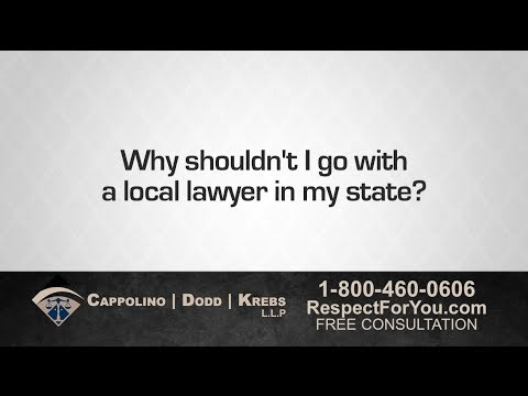 Personal Injury Attorney Richard Dodd: Local Lawyers Not Always Your Best Bet