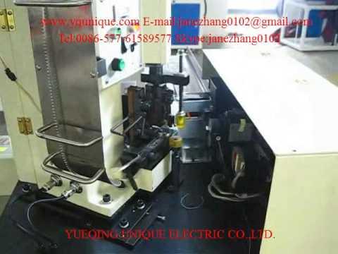 YE 158 Single 40 AWG 30 1 25 Terminal Crimping Twisting Machine