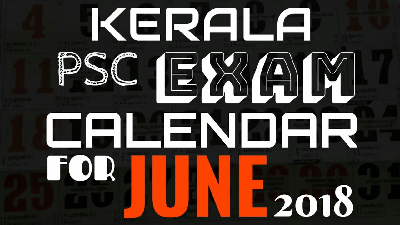 psc exam calendar may 2019