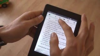 Amazon Kindle Paperwhite It operates with a delay тормозит сенсор экрана inhibits the sensor screen(, 2015-03-09T10:22:43.000Z)