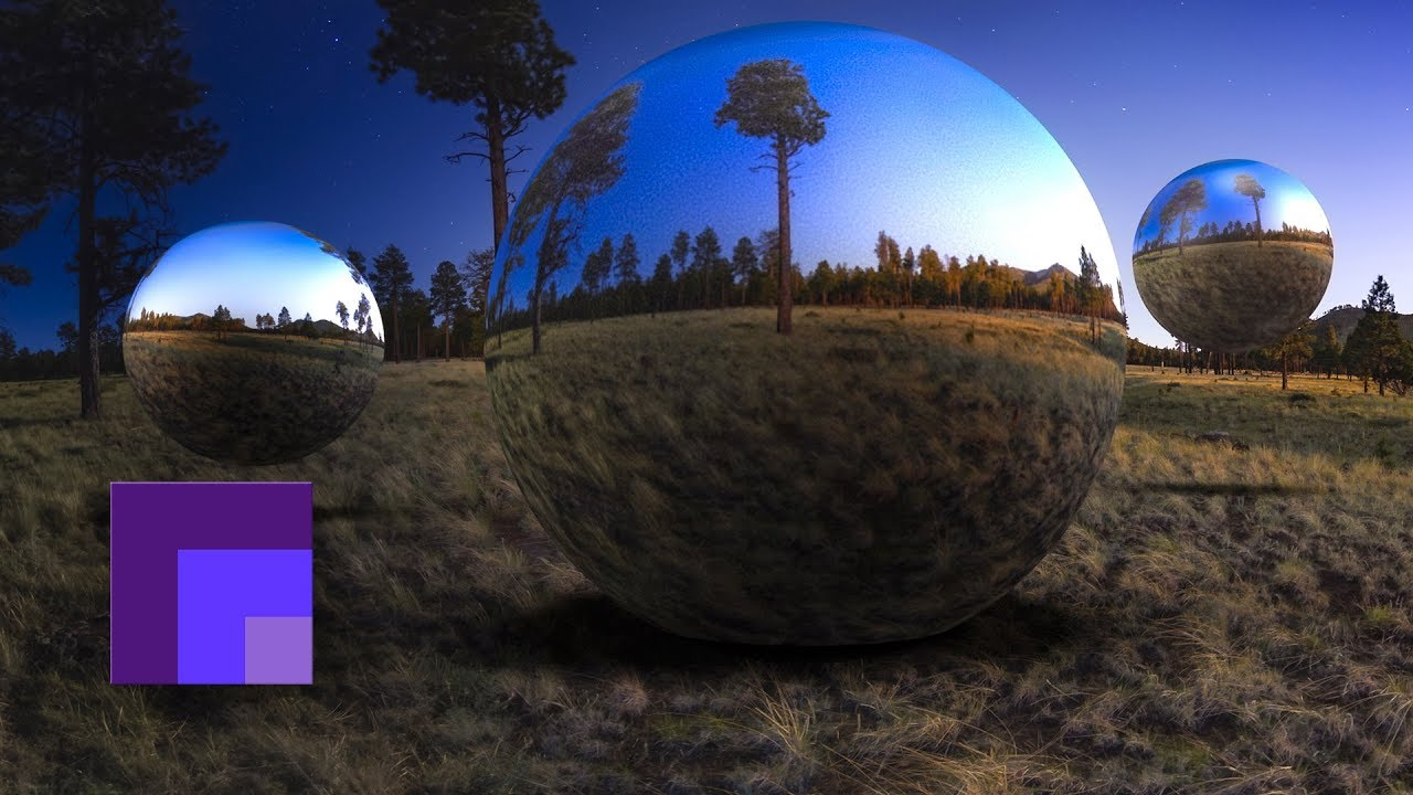 How to Export a 360 Panorama in Photoshop 3D as Animated Gif, Video and Jpg