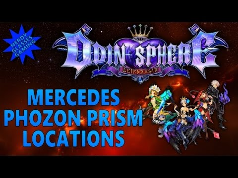 Odin Sphere Leifthrasir - Mercedes Phozon Prism Locations (PS4 Gameplay)