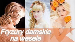 20 pomysłów 💓 na modne fryzury damskie na wesele