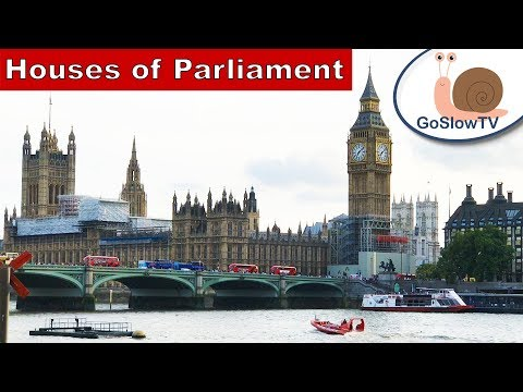 Houses Of Parliament | Westminster | London | Tourist | Slow TV | Episode 12 | By GoSlowTV