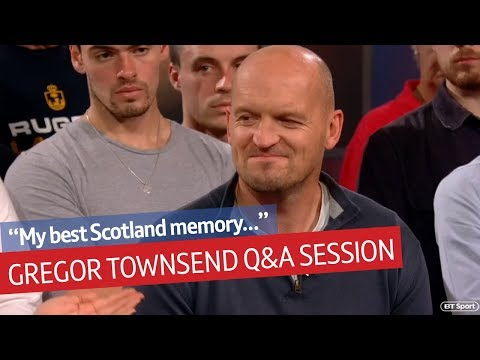 Future Lions head coach? Scotland's Gregor Townsend interview on Rugby Tonight