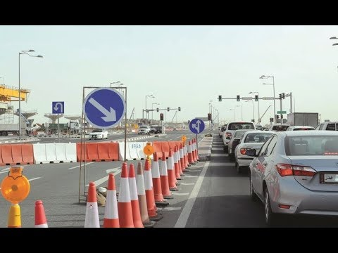 Qatar and Gulf traffic signs for Drive 2018