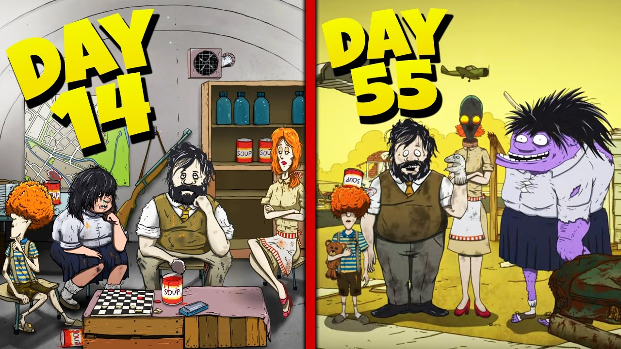 Download We SURVIVED The APOCALYPSE!   60 Seconds! Atomic Adventure