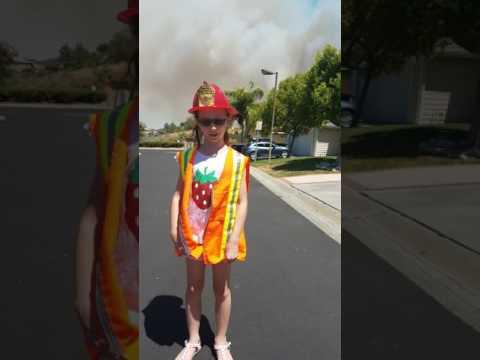 Fire, Santa Clarita, California