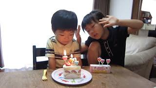 3歳 誕生日