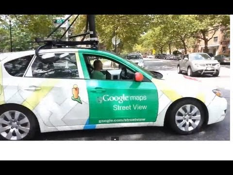 Following the Google maps Street View car in Queens New York by jonfromqueens